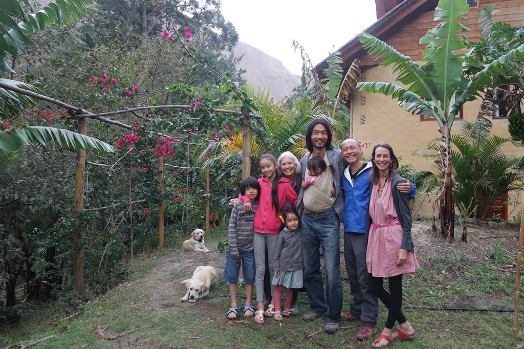 The beautiful family I stayed with (AirBnB)